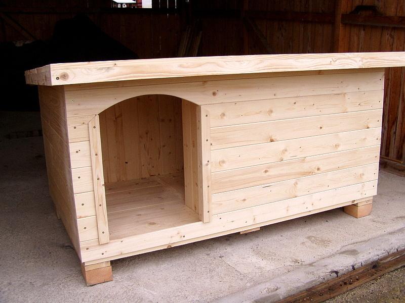 zateplená psí bouda